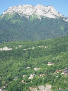 View of La Tournette