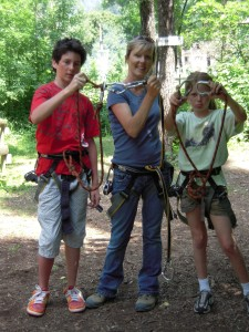 Ready for some zip-lining!