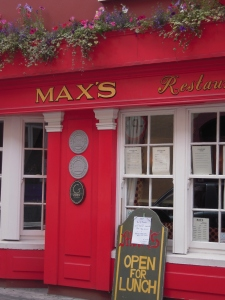 A Kinsale Institution: Max's