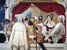 Cesky Krumlov Castle Ballroom Mural
