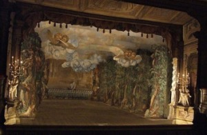 The Baroque Theater Stage